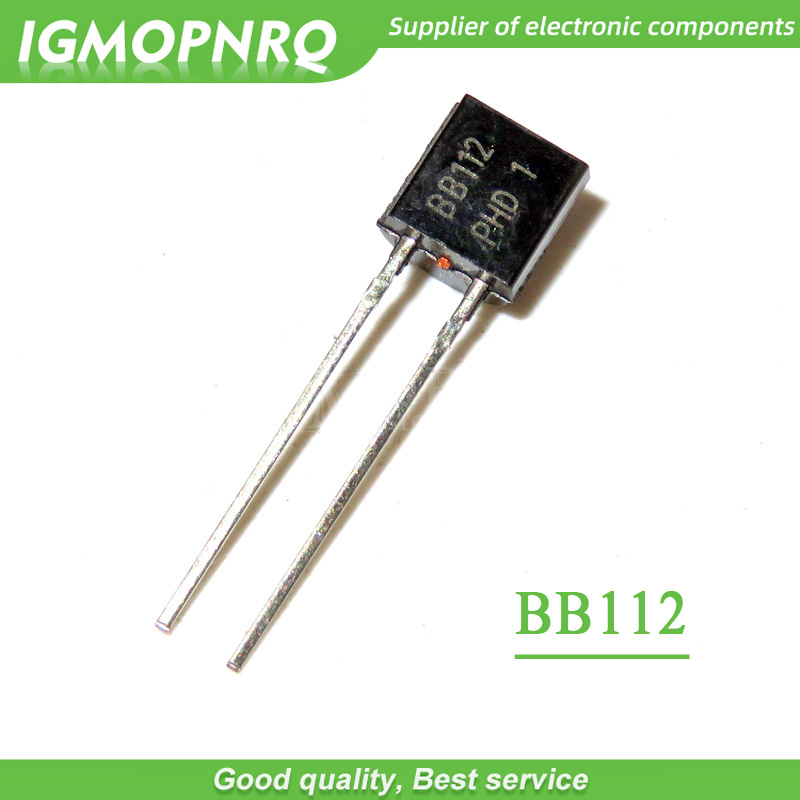 10pcs/lot BB112 BB112 TO-92 AM Variation Diode With Medium Wave New Original Free Shipping
