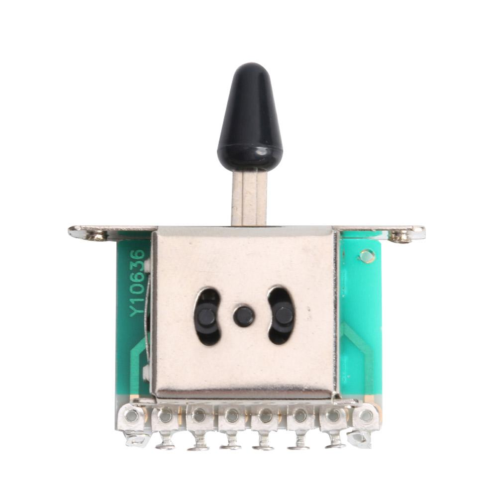 Adjustable Three-speed Selector Electric Guitar Fine Workmanship Long Service Life Gear Pickup Switches Toggle Lever Switch