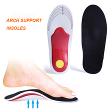 EVA Arch Support Insoles Shock Absorption Massage Pad Orthopedic Flat Shoes Insert for Men Women Foot Pain
