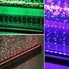 Nowa lampa z efektem bąbelków LED lampa do akwarium wpuszczone podwodne oświetlenie do akwarium zmiana koloru dokonywanie narzędzi do napowietrzania tlenem