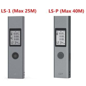 Image 5 - Youpin Duka 40m LS P cyfrowy dalmierz laserowy przenośna ładowarka USB precyzyjny pomiar ręczny dalmierz