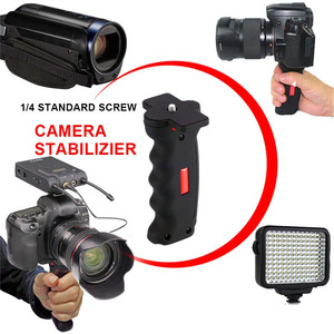 Image 3 - New Handheld Camera Pistol Grip Universal Handle Grip Holder Selfie Stick for GoPro Cameras Smart Phones