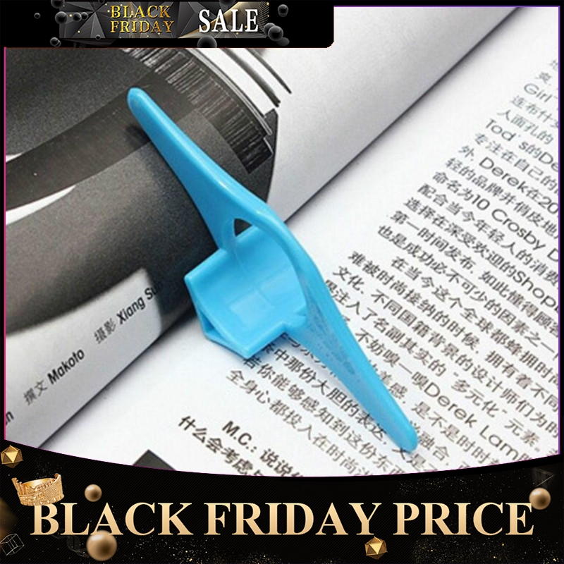 Book Page Holder Marker School Office Supplies Multi-Function Portable Thumb Book Support R20
