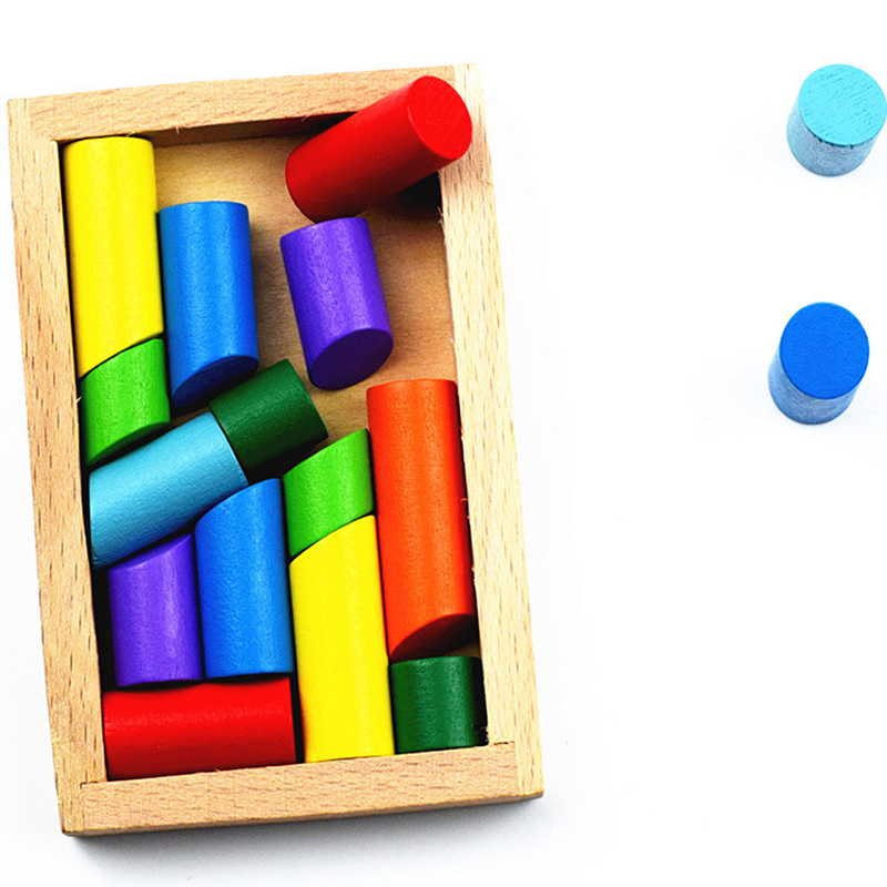 3D Block Stick Box IQ Brain Teaser Kids Wooden Hand Game Case Fun Magic Game Educational Toys For Children Brain Challenge Game