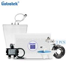 Lintratek 4G Repeater 3G Booster 2100 1800 MHz 70dB AGC Dual Band AMPLI 4G LTE 1800 MHz DCS 3G 2100 MHz WCDMA เครื่องขยายเสียง