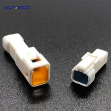2 sets 2 Pin/way JST Male Female Automotive Electric wire Connector Plug Housing 02R-JWPF-VSLE-S 02T-JWPF-VSLE-S for Benz BMW стоимость