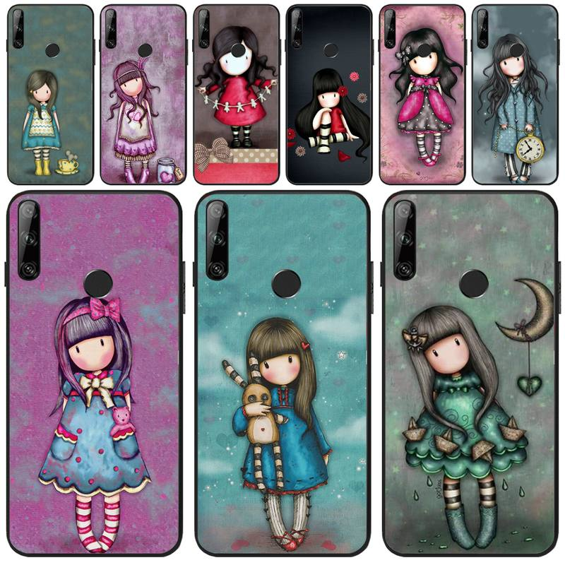 ByLoving Cartoon Lovely Santoro Gorjuss Coque Shell Phone Case For Huawei Y5 Y6 Y7 Y9 Prime Pro II 2019 2018(China)