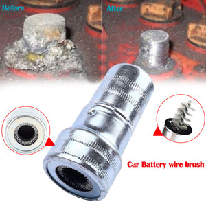Car Wash Cleaning Car Cleaning Battery Post Terminal Cable Cleaner Dirt Corrosion Brush Hand Tool nettoyage voiture ##0(China)