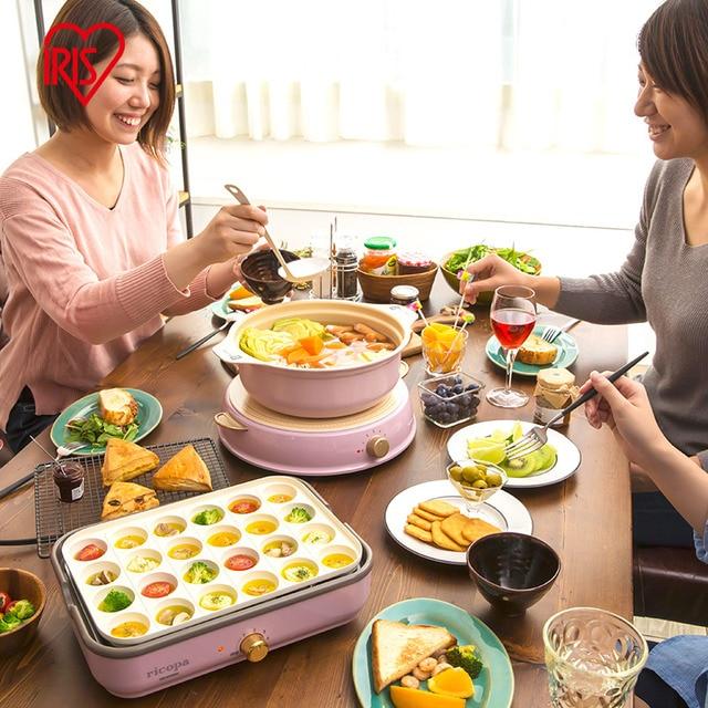 Multi-function Electric Grill Electric Baking Pan Cooking Pot Electric Hot Pot Smokeless Net Red Frying Pan