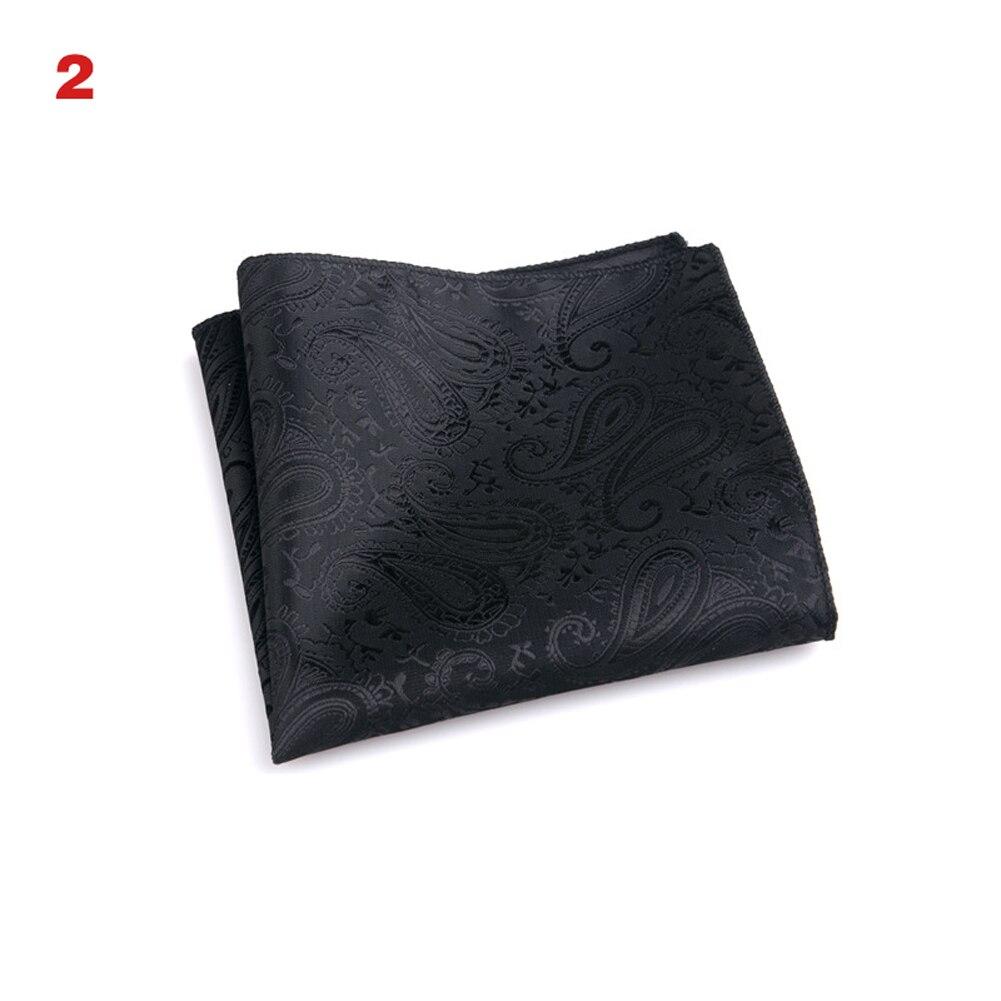 New Hot Vintage Men British Design Floral Print Pocket Square Handkerchief Chest Towel Suit Accessories SMR88