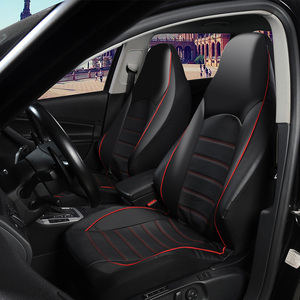 Image 2 - AUTOYOUTH Front Car Seat Covers Fashion Style High Back Bucket Car Seat Cover Auto Interior Car Seat Protector 2PCS For toyota