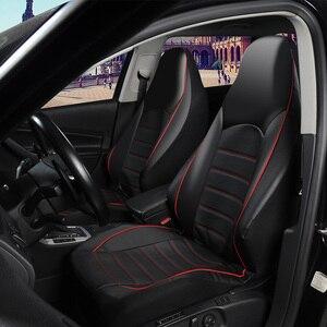 Image 2 - AUTOYOUTH קדמי רכב מושב מכסה אופנה סגנון גבוהה בחזרה דלי רכב כיסוי אוטומטי פנים רכב מושב מגן 2PCS עבור טויוטה