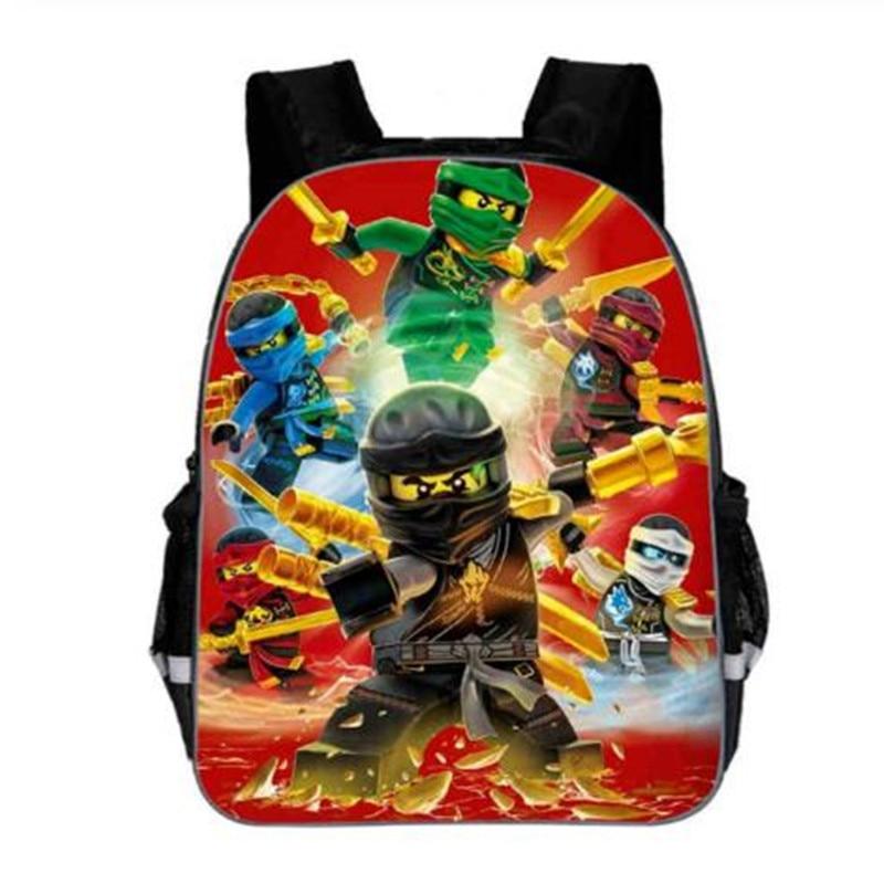 Boys Games Ninjago School Bags New Backpack Bag For Baby Boy Kids Capacity Backpack For Children Mochila Feminina