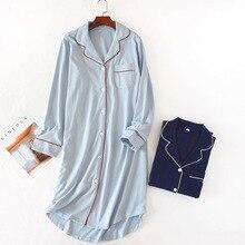 100% cotton  Night Wear Nightgown Women Sleepwear Nighties For 1264