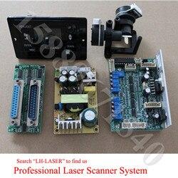Pantalla de tarjeta SD 30K láser Galvo galvanómetro basado en escáner óptico de LH-LASER