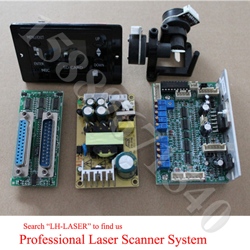 SD Card Display 30K Laser Galvo Galvanometer Based Optical Scanner From LH-LASER