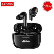 Lenovo xt90 tws bluetooth 5.0 fones de ouvido sem fio verdadeira redução ruído controle toque sweatproof esporte fone com microfone