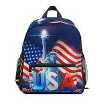 American flag mochila infantil children school bags new Anti-lost children's backpack school bag backpack for children Baby bags