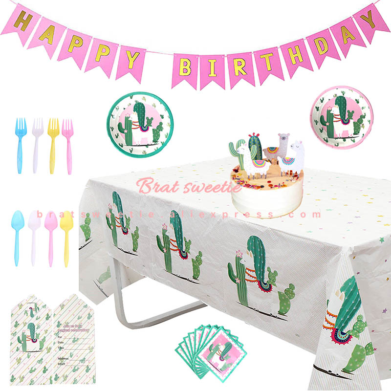 Tableware Set Includes Happy Birthday Dinner Plates Balloon Dessert Plates and Napkins Generic Happy Birthday Balloon Party Paper Plates and Napkins Party Supplies Bundle