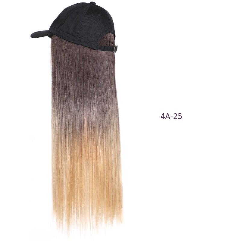 Cabelo sintético 22 Polegada longa reta peruca