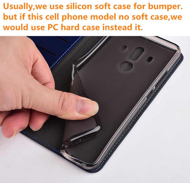 Cüzdan kılıf Çok kart tutucu Hakiki deri kılıf Için Huawei P Akıllı Z Huawei Y9 Başbakan 2019/Huawei P Akıllı Cep Telefonu çanta