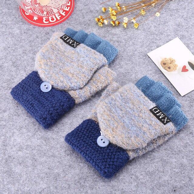 Cute Half Finger Gloves 2