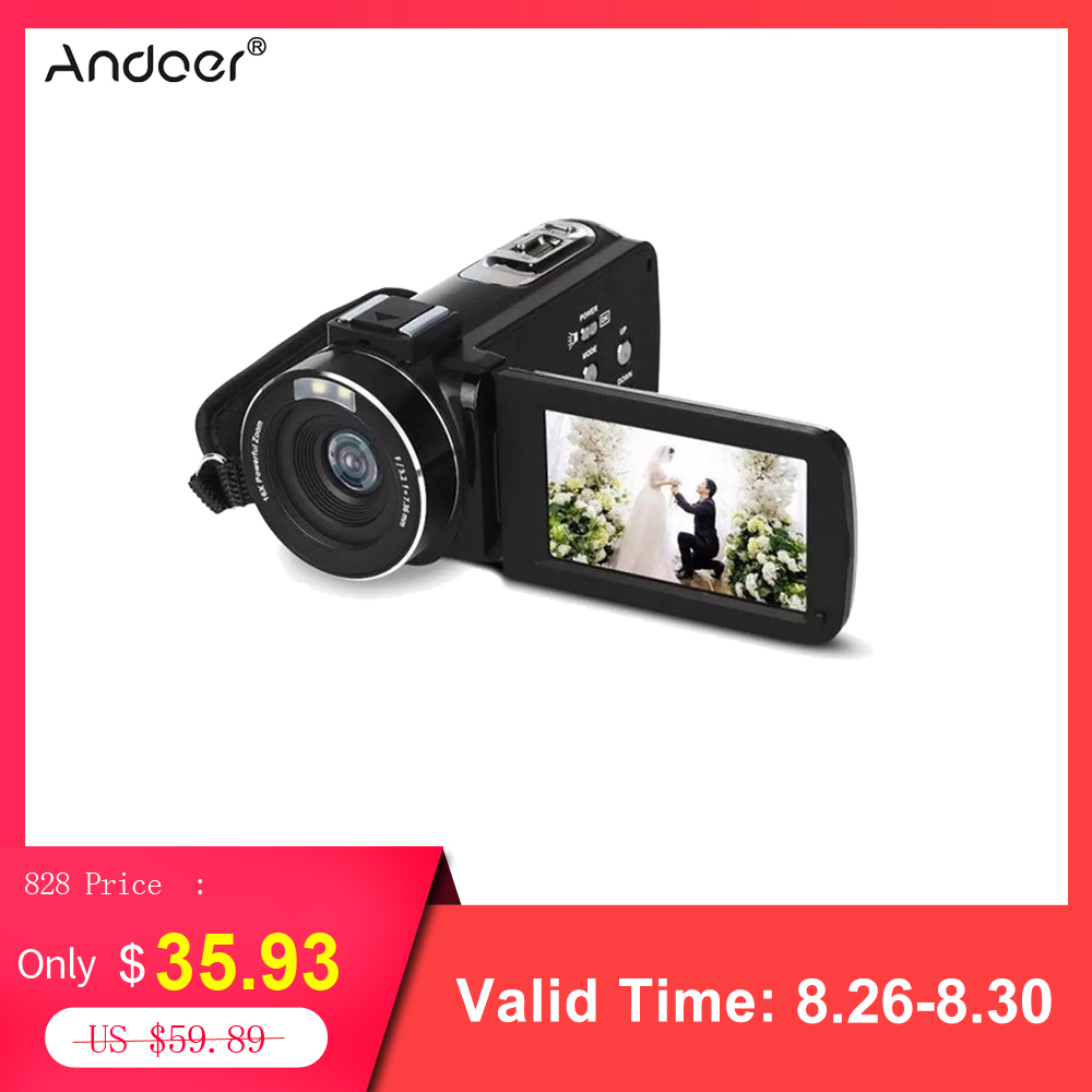 Digital-Camera Video-Camcorder Professional Night-Vision Full-Hd 1080P Mini DV Home