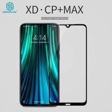 Redmi Note 8 Pro szkło Nillkin XD CP + MAX antyodblaskowe ochronne szkło hartowane dla Xiaomi Redmi Note 8 Pro 8T