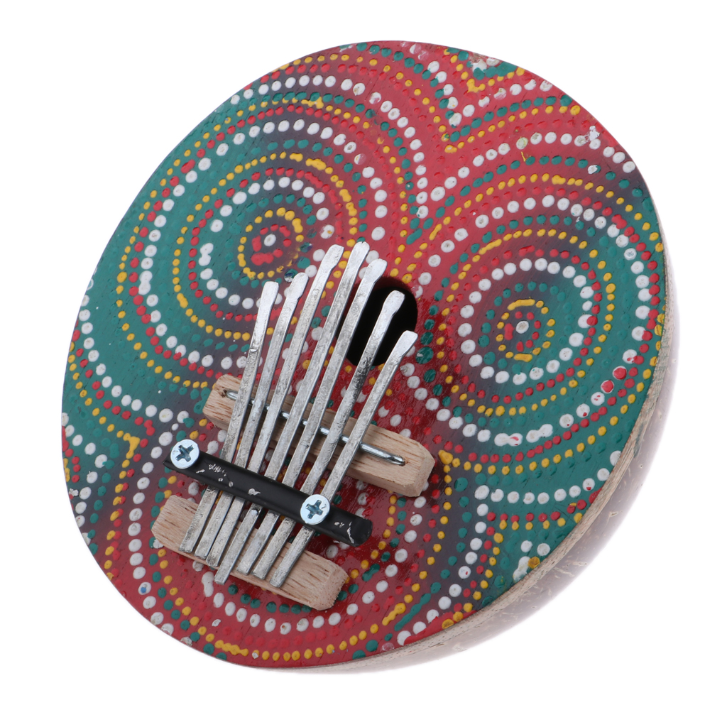 7 Key Thumb Finger Piano Kalimba For Beginners Kids Students Children