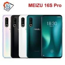 Meizu 16S Pro мобильный телефон 6,2 дюймов FHD+ 6G/8G+ 128G/256G Snapdragon 855 Plus Восьмиядерный Android 9,0 NFC Смартфон