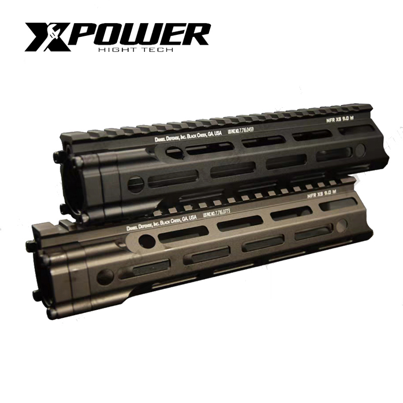 XPOWER MFR Rail Hanguard 7/9/12 Inch For Gearbox Airsoft Paintball Pistol Tactical Air Gun Sport Shooting