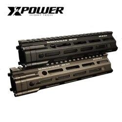 XPOWER MFR Rail Hanguard 7/9/12 pulgadas para caja de cambios, Airsoft, pistola de Paintball, pistola de aire táctica, tiro deportivo