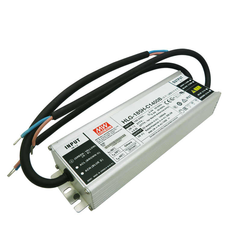 Mean Well LPC-60-1400 HLG-185H-C1400B Driver Power Supply untuk Cree CXB3590 LED