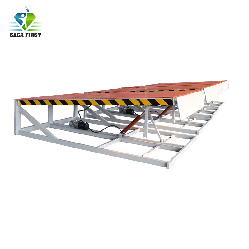 6ton 8ton 10ton Manual Hydraulic Forklift Container Dock Leveler