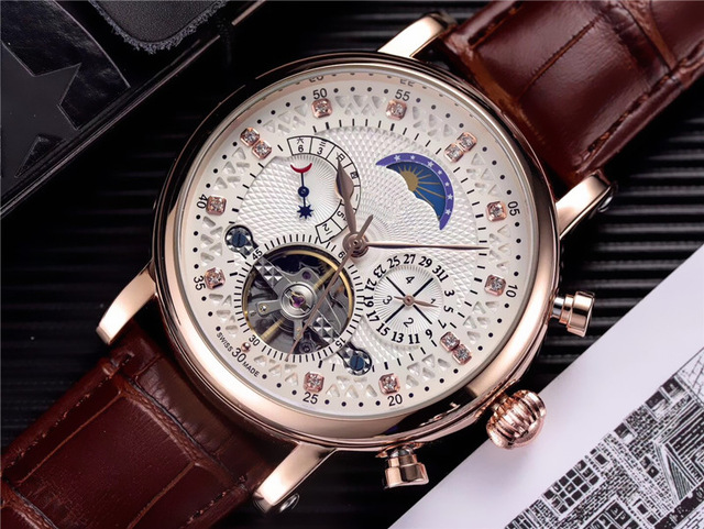 Men's high-quality top brand watches, luxury watches in all secondary areas, mechanical automatic watches with monthly calendar