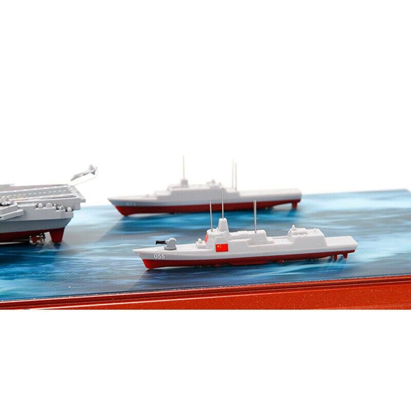 Portaaviones chinos LiaoNing grupo de batalla barco 1/1600 aleación modelo de simulación