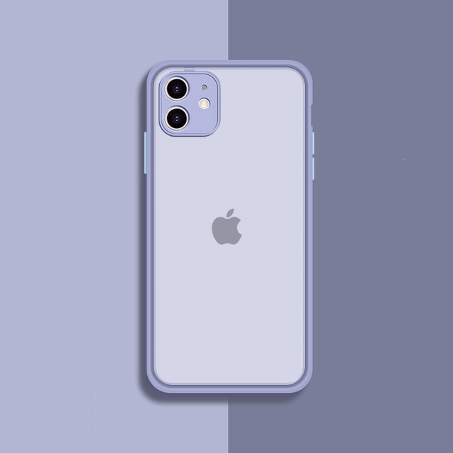 Camera Lens Protection Phone Case on For iPhone 11 Pro Max 6 6S 7 8 Plus XR XSMax X XS SE 2020 Candy Color Soft Back Cover Gift
