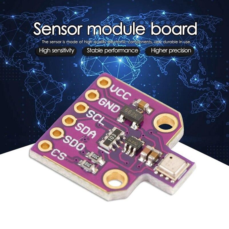 CJMCU-680 BME680 Module Temperature Humidity Pressure Sensor Barometric Sensor Development Board Sensor Module Environmental Sen