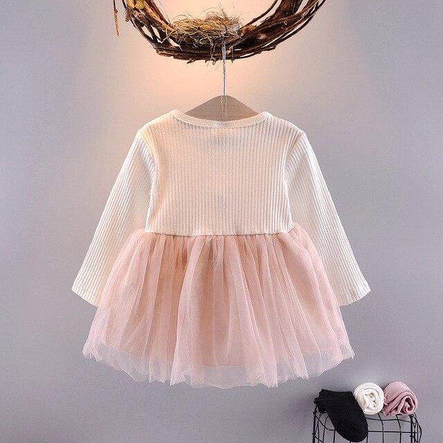 Baby Girl's Cartoon Rabbit Dress 3
