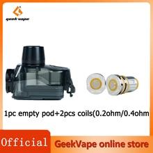 GeekVape egis Boost Pro Pod vuoto 6ML Fit GeekVape P Coil 0.2ohm/0.4ohm Coil per sigaretta elettronica egis Boost Pro Vape Kit