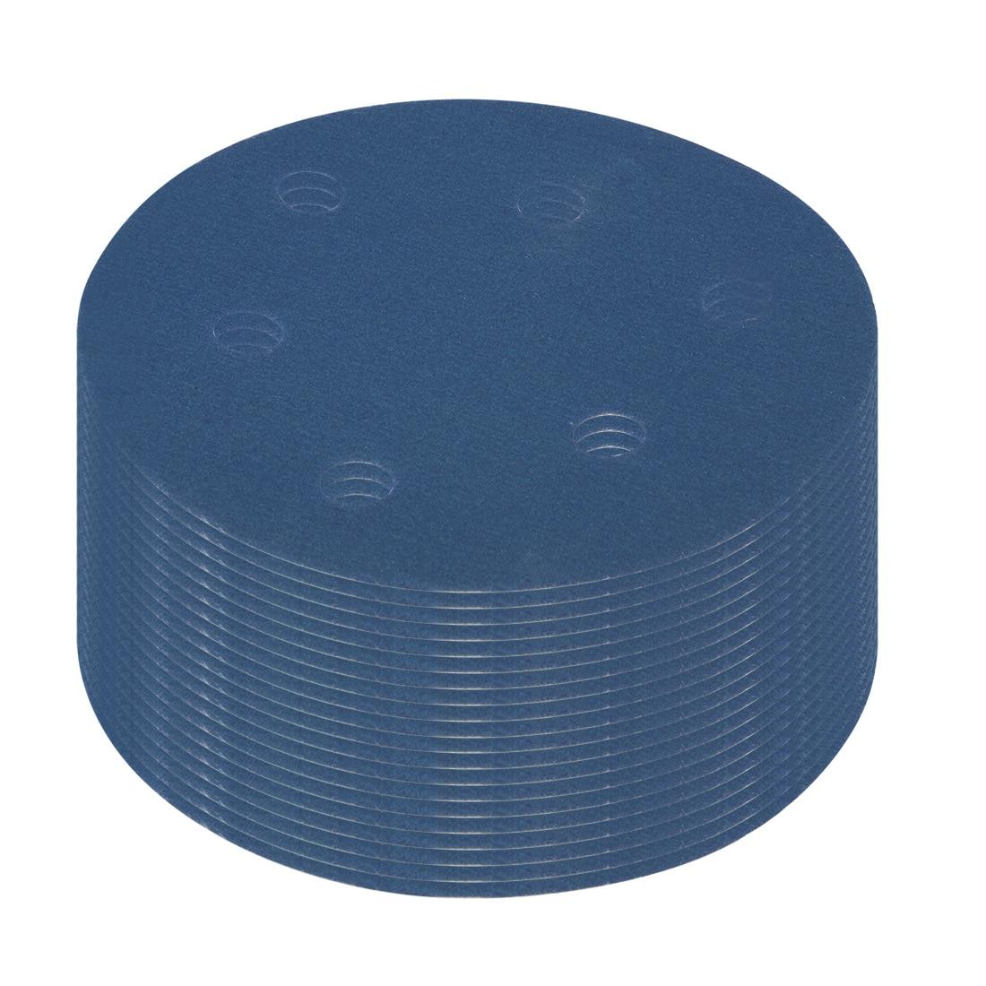uxcell 10Pcs 6 Inch Hook and Loop Sanding Disc 600 Grits Flocking Sandpaper for Random Orbit Sander