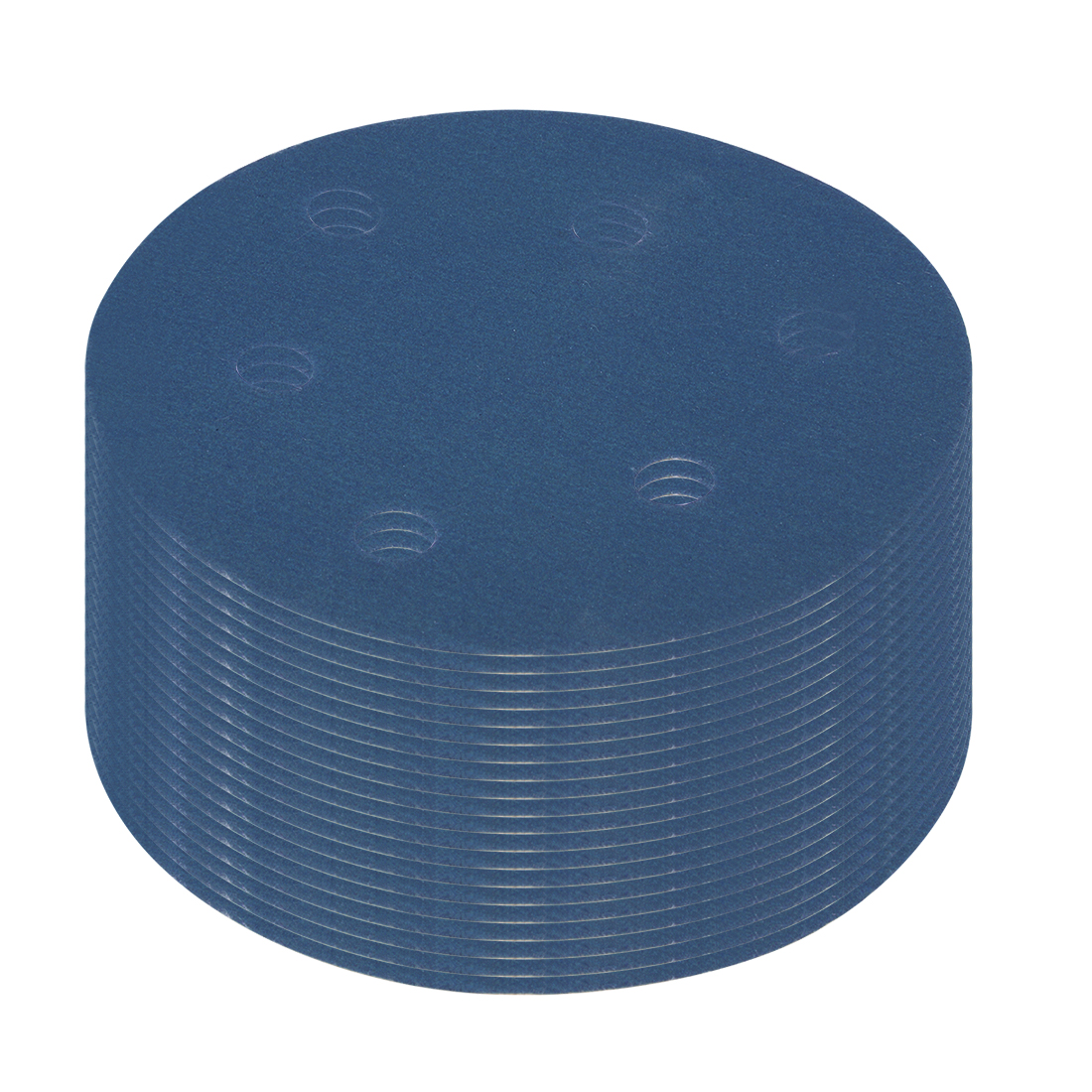 Uxcell 20 Pcs 5 Inch 6 Hole Hook And Loop Sanding Disc 600 Grits Flocking Sandpaper Random Orbital Sander Paper