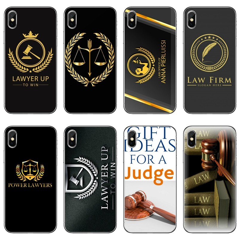 Law Student Lawyer Judge Accessories Phone Case For iPhone 11 Pro XS Max XR X 8 7 6 6S Plus 5 5S SE 4S 4 iPod Touch 5 6 Half-wrapped Cases    - AliExpress