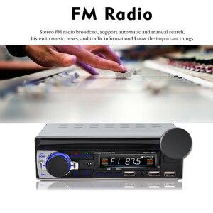 508 Autoradio Mobile Magnétique Support Pour Téléphone 18.8*5.8*8.8cm 3-USB 3.1A DC12V HÔTE Joueur MP3 Bluetooth SD DISQUE U Lecture