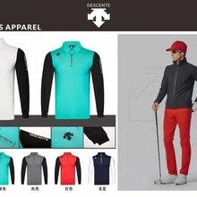 QMen с длинным рукавом DESCENTE футболка для гольфа, 5 цветов, для игры в гольф одежда S-XXL в выборе отдыха тенниска