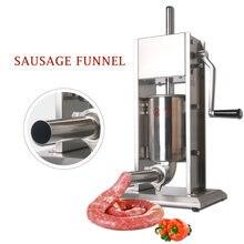 Ручная машина для наполнения мяса колбасы из нержавеющей стали