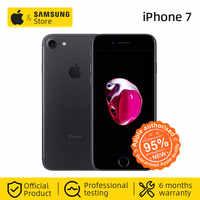 Desbloqueado apple iphone 7 smartphone 32 gb/128 gb rom ios 4g lte telefone móvel
