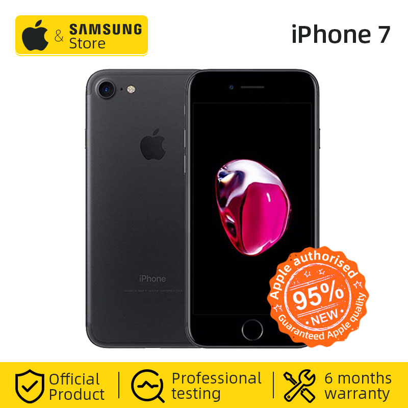סמארטפון Apple iPhone 7 Smartphone 32 GB/128 GB ROM IOS 4G LTE טלפון נייד title=