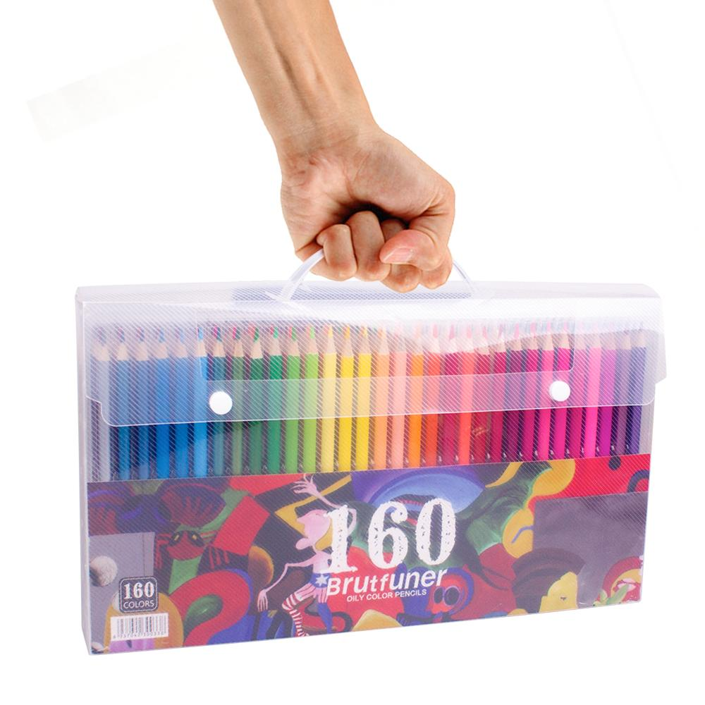 48 72 120 160 Colors Wood Colored Pencils Set Oil HB Drawing Sketch For Prismacolor Colored Pencils School Gifts Art Supplies