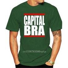 T-shirt manches courtes noir unisexe pour homme et femme, soutien-gorge avec Logo